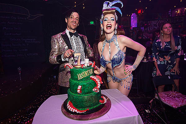 ABSINTHE Celebrates 7 Years in Las Vegas with The Gazillionaires Gala of Gluttony 5.8.18 - Photo credit: Powers Imagery