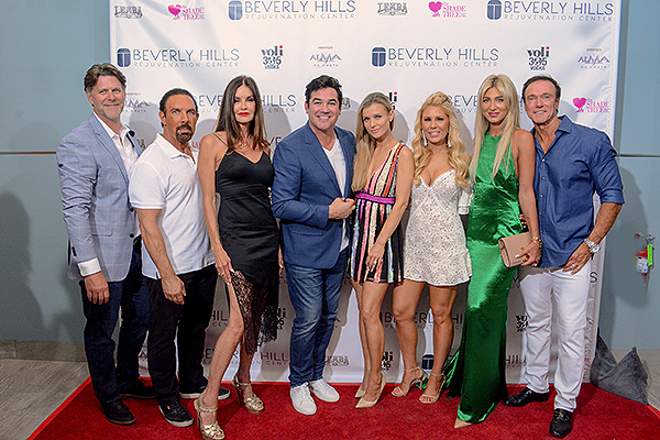 Slade Smiley Dan Holtz Janice Dickinson Dean Cain Joanna Krupa Gretchen Rossi Oksana Haman and Devin Haman Joe Durkin PRESS v1 current