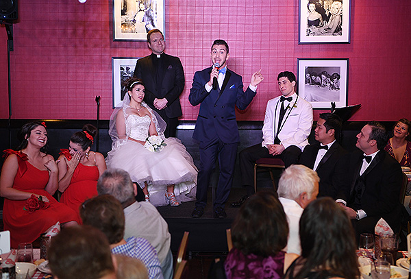 Tony n Tinas Wedding Opening Night Celebration at Buca di Beppo inside Ballys Las Vegas Friday June 15 6