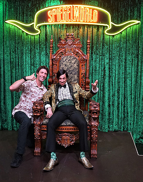 Travis Pastrana attends ABSINTHE at Caesars Palace 6.14.18 Credit Joseph Sanders Spiegelworld 1 v1 current