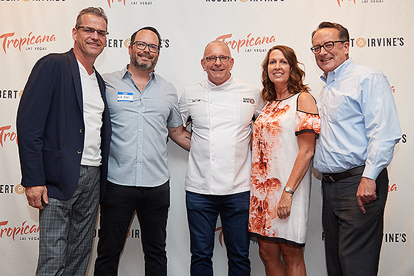 TropLV SummerCookout2018 1 Tropicana and Three Square Execs Credit Powers Imagery