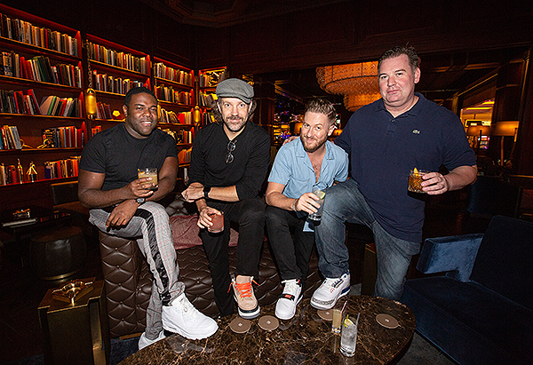 Sam Richardson Jason Sudeikis Billy Brimblecom at The Dorsey at The Venetian Resort Las Vegas