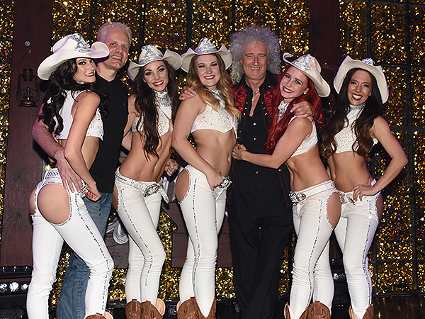 Brian May at X Country 3