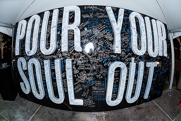 DBF Pour Your Soul Out Wall