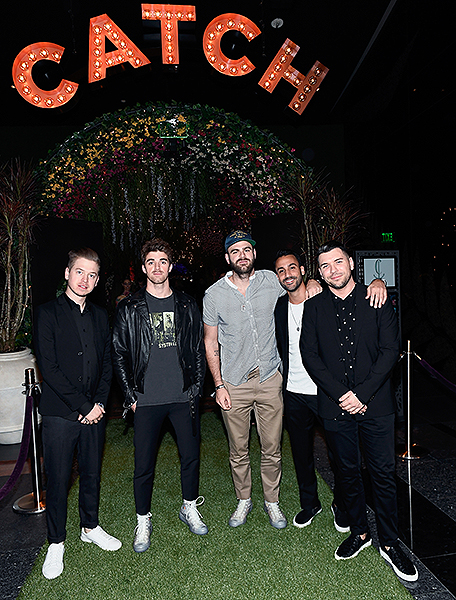 The Chainsmokers celebrate CATCH Las Vegas grand opening at ARIA Resort Casino Getty Images Denise Truscello