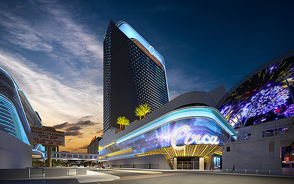 SCirca at night - Photo courtesy of Circa Resort & Casino Las Vegas