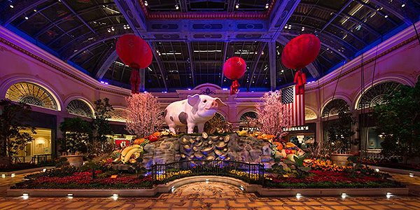Photo courtesy of The Bellagio Conservatory & Botanical Gardens