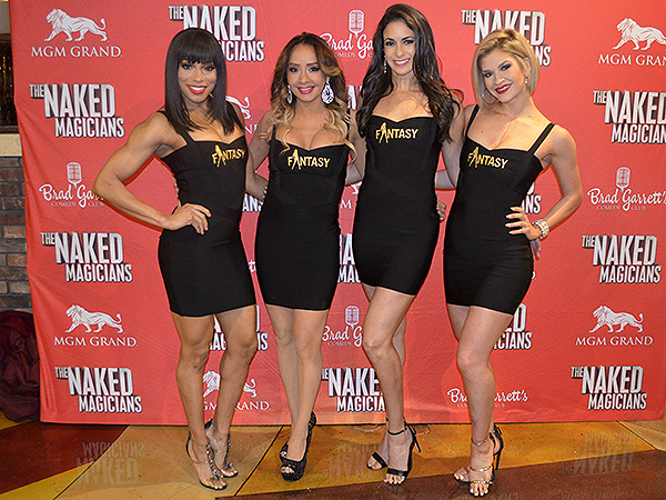 Naked Magicians 5054