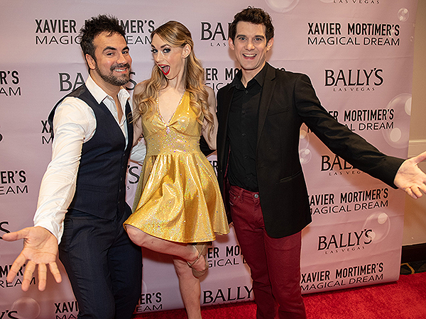 Xavier Mortimer Allie Sparks and Alex Goude on the Red Carpet