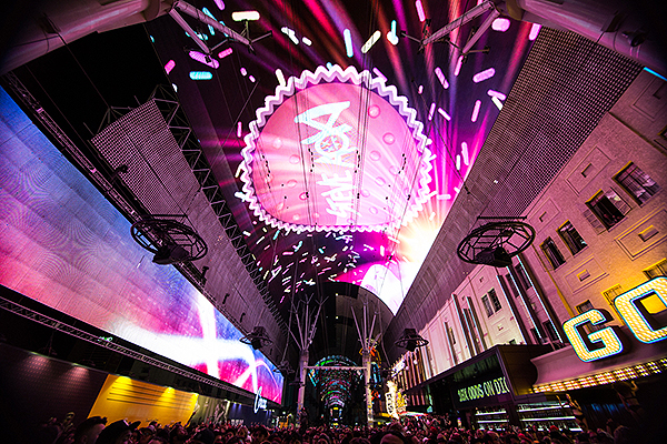 Fremont Street Experience unveils all new Viva Vision light show featuring chart topping hits from Steve Aoki 6.13.19