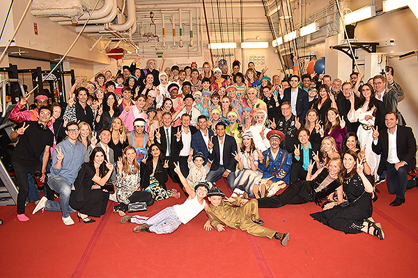 Neil Patrick Harris and a Group of Friends Attend The Beatles LOVE By Cirque du Soleil Sept. 27 2019
