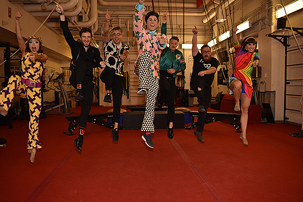 WALK THE MOON with Dancers from The Beatles LOVE by Cirque du Soleil ahead of Life is Beautiful Sept. 19 2019