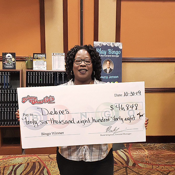 Arizona Charlies Bingo Winner Delores