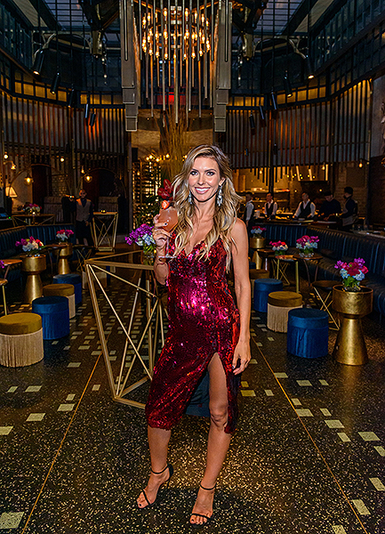Audrina Patridge at Mott 32 at The Venetian Resort Las Vegas Nov. 14