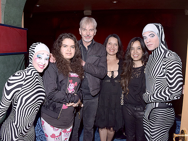 Billy Bob Thornton and Family Attend O by Cirque du Soleil Saturday Nov. 16 2019