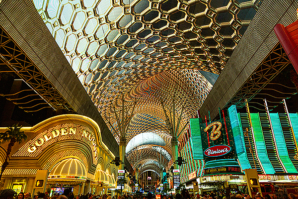Fremont Street Experience Unveils Stunning Visuals on Newly Renovated Viva Vision Canopy - Photo credit: Black Raven Films for Fremont Street Experience