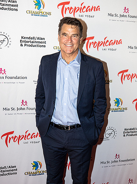 Ted McGinley at Trago Lounge inside Tropicana Las Vegas Photo Credit Key Lime Photography