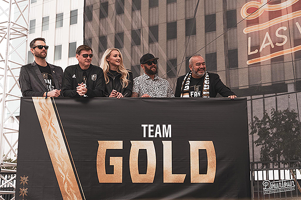 VGK Broadcasters Join a Fan to Play Fan ily Feud at Third Annual Fan Fest Event 2