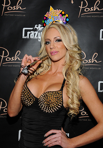 Nicolette Shea on red carpet