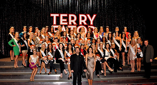 Terry Fator and Miss America Contestants Post Show 1.4.13