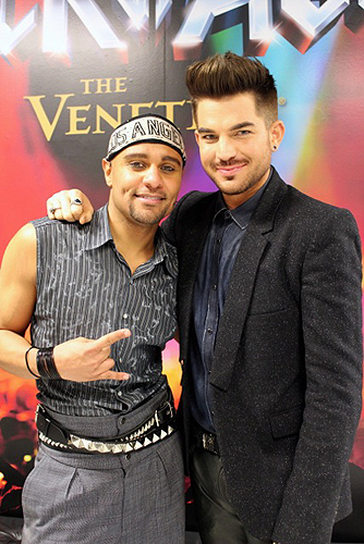 Adam Lambert Terrance Spencer