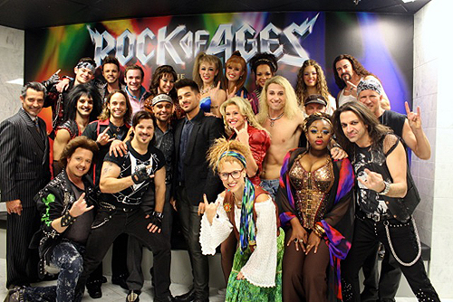 Adam Lambert  with full cast