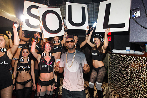 Juicy J SOUL Headphones Party