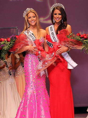 Miss Nevada Teen USA 2014 Alexa Taylor and Miss Nevada USA Nia Sanchez  by Georgina Vaughan 2