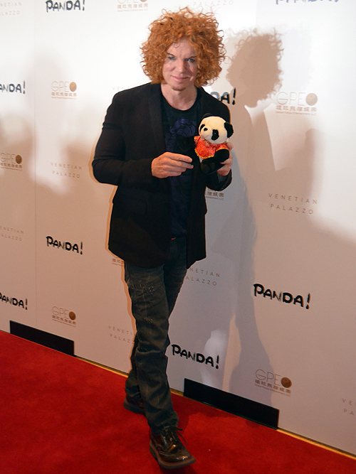 Carrot Top Panda 2014 Palazzo Hotel and Casino Las Vegas 30698