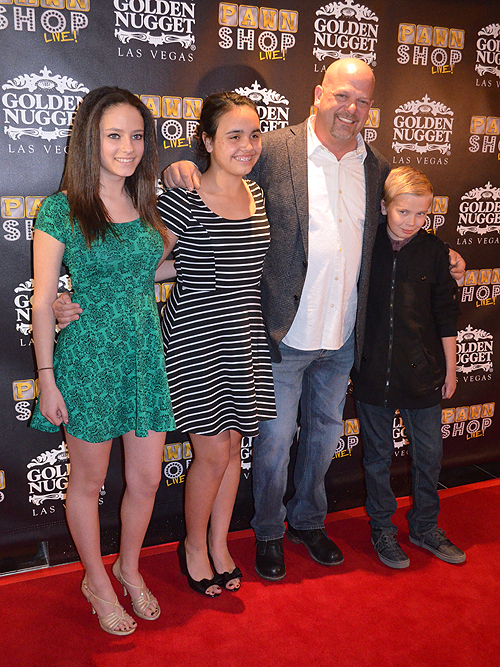 Rick Harrison and his children Pawn Shop Live 31635