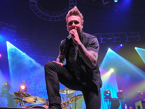 2.15.13 Papa Roach at The Joint in Hard Rock Hotel and Casino credit Scott Harrison