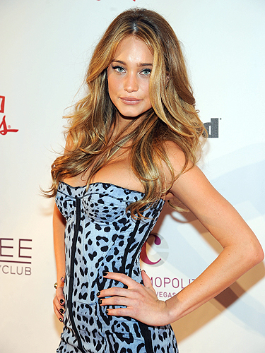 Hannah Davis Marquee Sports Illustrated Swimsuit Event