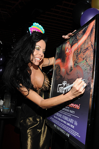 Tabitha Stevens signing event poster