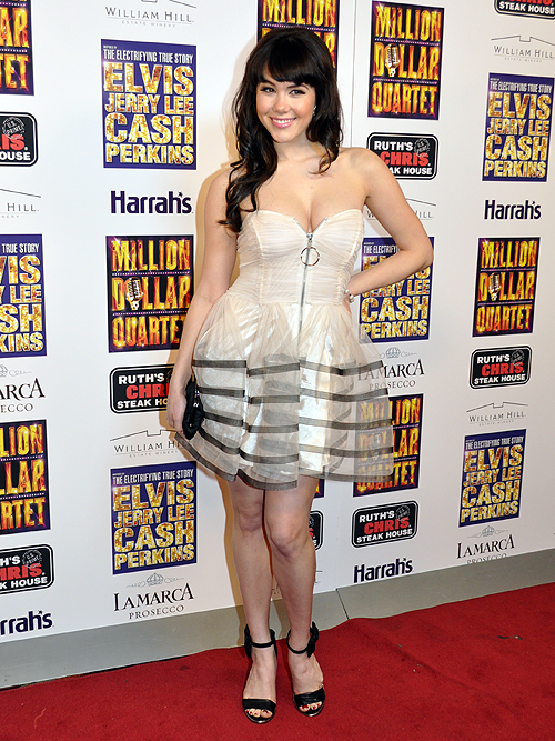 Claire Sinclair Million Dollar Quartet Harrahs Las Vegas 2013 20676