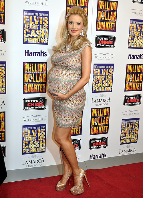 Holly Madison Pregnant Million Dollar Quartet Harrahs Las Vegas 2013 20635