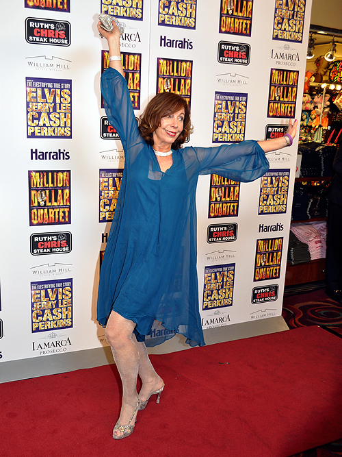Rita Rudner Million Dollar Quartet Harrahs Las Vegas 2013 20650