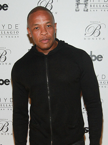 Dr. Dre on Red Carpet at Hyde Bellagio Las Vegas 3.2.13