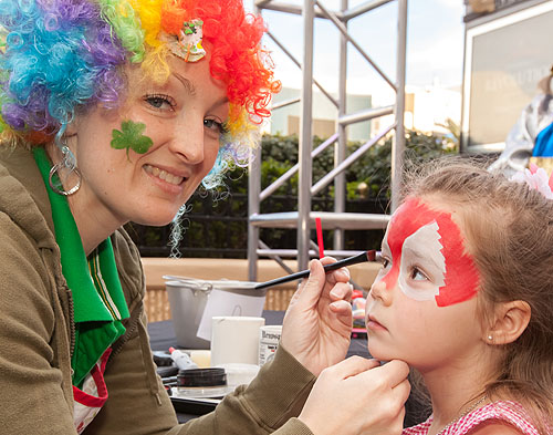 Face Painting Credit David Tingey