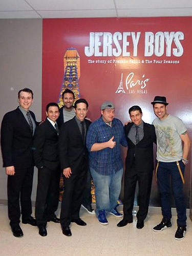 Frankie Moreno at JERSEY BOYS