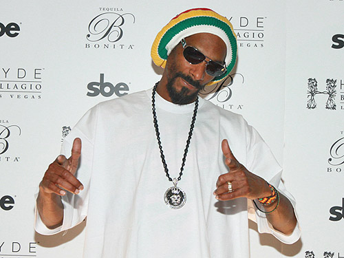 Snoop Dogg on Red Carpet at Hyde Bellagio Las Vegas 3.2.13