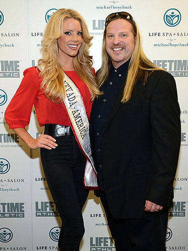 Ruth Gray and Michael Boychuck at LifeSpa Salon