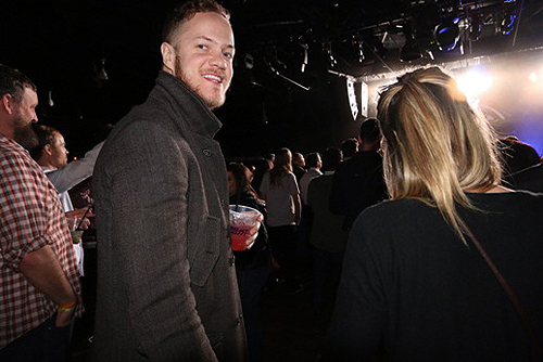 03.22 Dan Reynolds at London Grammars show at Vinyl inside Hard Rock Hotel and Casino Las Vegas Photo credit Benjamin Gordon