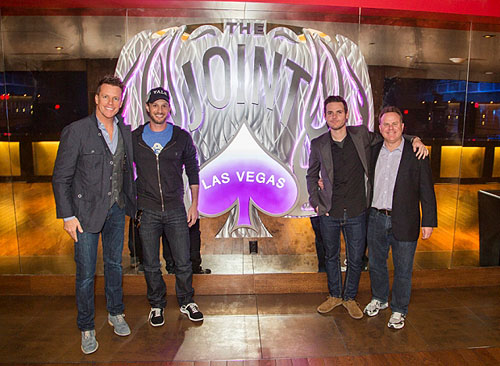 04.26.13 Chris Franjola Josh Wolf Jeff Wild Steve Marmalstein at Prince inside The Joint at Hard Rock Hotel and Casino
