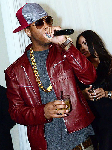 Jeremih VIP Booth PURE Nightclub