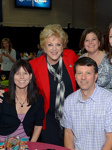 Mayor Carolyn Goodman and guests enjoy brunch at The Animal Foundations 11th Annual Best In Show Vegas 4.27.14