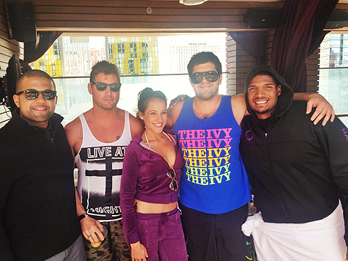 Michael Sam at Marquee Dayclub