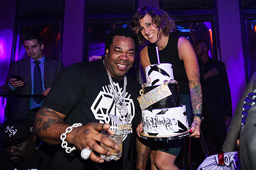 Busta Rhymes Birthday Cake TAO