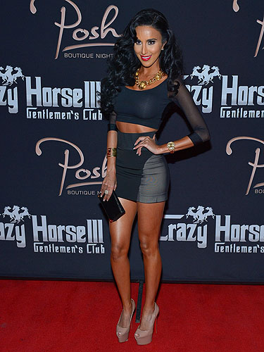 Lilly Ghalichi on red carpet at Posh