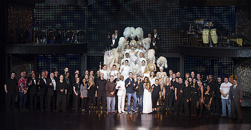 VEGAS The Show cast and crew