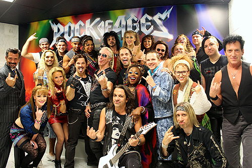 Dee Snider with full cast